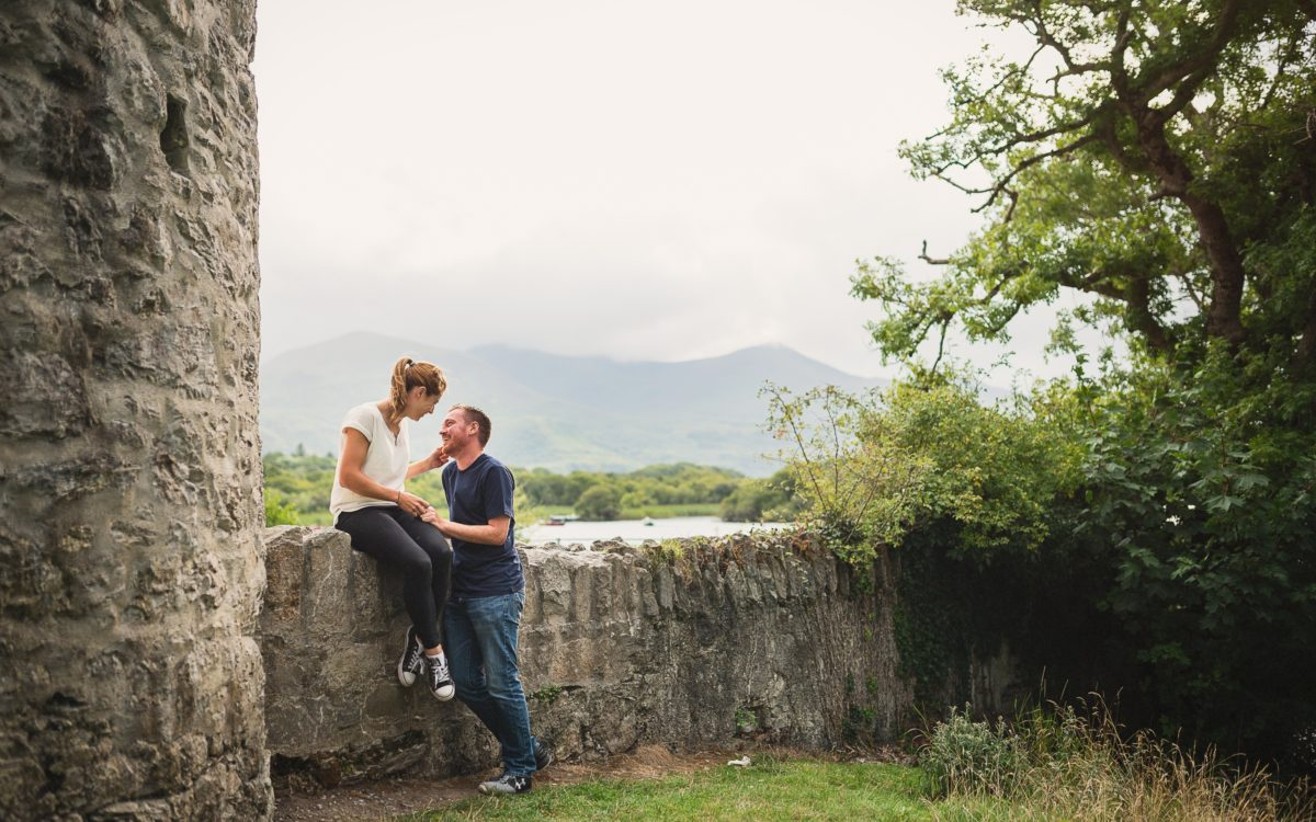Ruth & Brian - Ross Castle Killarney