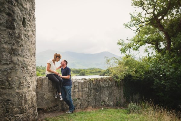 Ruth & Brian - Ross Castle Killarney
